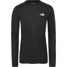 The North Face Reaxion Amp LS Crew Dame TNF Black Heather